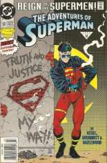Adventures of Superman (1987-2006) #501 Variant A: Newsstand Edition