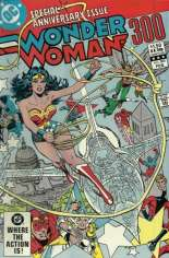 Wonder Woman (1942-1986) #300 Variant B: Direct Edition; Wraparound Cover