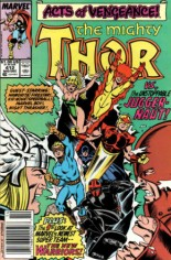 Thor (1966-1996) #412 Variant A: Newsstand Edition