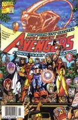 Avengers (1998-2004) #10 Variant A: Newsstand Edition