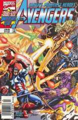Avengers (1998-2004) #12 Variant A: Newsstand Edition; Wraparound Cover