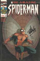 Amazing Spider-Man (1999-2014) #1 Variant G: DF Signed Edition; Signed by Stan Lee; Limited to 1500 Copies