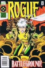 Rogue (1995) #2 Variant A: Newsstand Edition; Foil Enhanced Cover