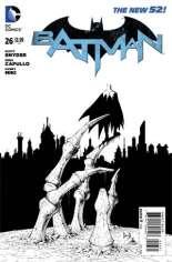 Batman (2011-2016) #26 Variant D: Sketch Cover