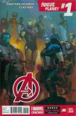 Avengers (2012-2015) #24 Variant C: Mega Fold-Out Poster Edition