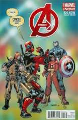 Avengers (2012-2015) #24 Variant G: Deadpool Cover