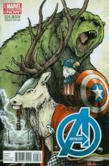 Avengers (2012-2015) #24 Variant H: Marvel Animal Cover
