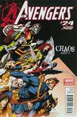 Avengers (2012-2015) #24 Variant R: X-Men Covers Avengers Cover