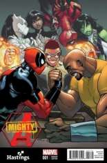 Mighty Avengers (2013-2014) #1 Variant I: Hastings Exclusive