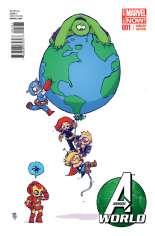 Avengers World (2014-2015) #1 Variant H: Baby Cover