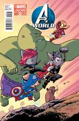 Avengers World (2014-2015) #1 Variant F: Animal Cover