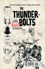 Thunderbolts (2012-2014) #20 Variant C: Sketch Cover