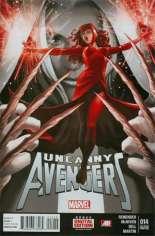 Uncanny Avengers (2012-2014) #14 Variant C: 2nd Printing