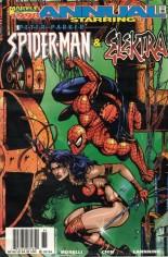 Spider-Man (1990-1998) #Annual 1998 Variant A: Newsstand Edition; Spider-Man/Elektra Annual