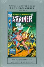 Marvel Masterworks: The Sub-Mariner (2004-Present) #HC Vol 5 Variant A: Silver Dust Jacket