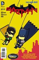 Batman (2011-2016) #27 Variant C: Scribblenauts Unmasked Cover