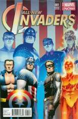 All-New Invaders (2014-2015) #1 Variant B: Incentive Cover