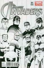 All-New Invaders (2014-2015) #1 Variant C: Sketch Cover