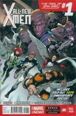 All-New X-Men (2013-2015) #22 Variant F: Poster Edition; Polybagged w/ X-Men 50th Anniversary Poster