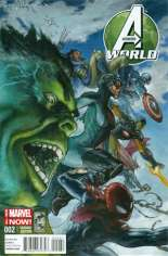 Avengers World (2014-2015) #2 Variant B: Incentive Cover