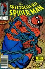 Spectacular Spider-Man (1976-1998) #145 Variant A: Newsstand Edition