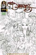 Darkness (2007-2013) #100 Variant G: Emerald Knights Comics and Games Exclusive Sketch Cover