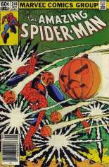 Amazing Spider-Man (1963-1998) #244 Variant A: Newsstand Edition