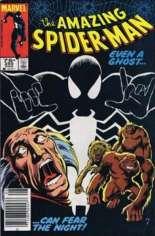 Amazing Spider-Man (1963-1998) #255 Variant C: 75 Cent Variant