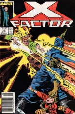 X-Factor (1986-1998) #16 Variant A: Newsstand Edition