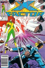 X-Factor (1986-1998) #18 Variant A: Newsstand Edition