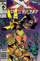 X-Factor (1986-1998) #22 Variant A: Newsstand Edition