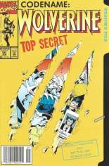 Wolverine (1988-2003) #50 Variant A: Newsstand Edition; Die-Cut Cover