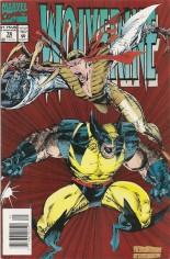 Wolverine (1988-2003) #76 Variant A: Newsstand Edition