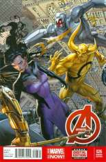 Avengers (2012-2015) #26 Variant B: Incentive Cover