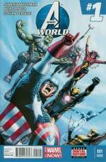 Avengers World (2014-2015) #1 Variant I: 2nd Printing