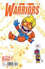 New Warriors (2014-2015) #1 Variant D: Baby Cover