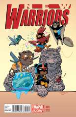 New Warriors (2014-2015) #1 Variant E: Animal Cover