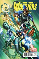 New Warriors (2014-2015) #1 Variant B: Incentive Cover