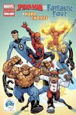 Spider-Man and the Fantastic Four in Hard Choices (2006) #One-Shot Variant D: ? Printing; Elks USA Giveaway