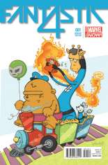 Fantastic Four (2014-2015) #1 Variant D: Animal Cover