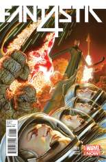 Fantastic Four (2014-2015) #1 Variant F: 75th Anniversary Cover