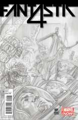 Fantastic Four (2014-2015) #1 Variant G: 75th Anniversary Sketch Cover
