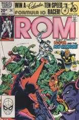 Rom (1979-1986) #24 Variant C: UK Edition