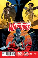 New Warriors (2014-2015) #2 Variant A
