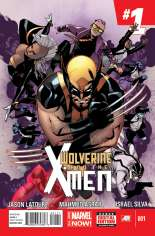 Wolverine and the X-Men (2014-2015) #1 Variant A