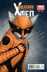 Wolverine and the X-Men (2014-2015) #1 Variant C: Animal Cover