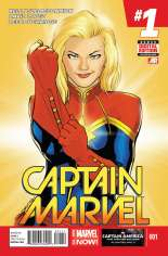 Captain Marvel (2014-2016) #1 Variant A
