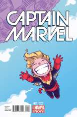 Captain Marvel (2014-2016) #1 Variant C: Baby Cover
