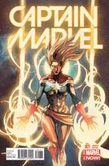 Captain Marvel (2014-2016) #1 Variant D: Incentive Cover