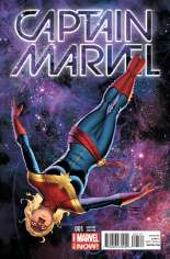 Captain Marvel (2014-2016) #1 Variant B: Incentive Cover